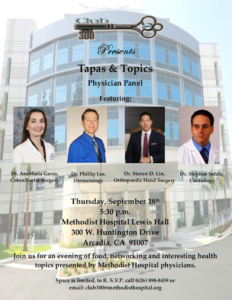 Tapas & Topics Physician Panel