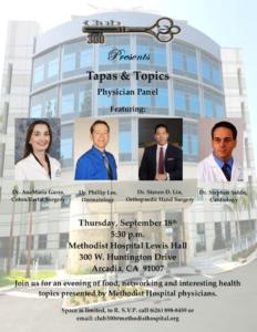 Tapas & Topics Physician Panel